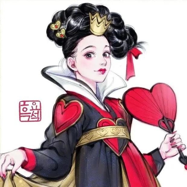 Loạt ảnh đẹp hết nấc khi các nhân vật trong phim Disney khoác lên mình những bộ trang phục truyền thống của Hàn Quốc - Ảnh 15.
