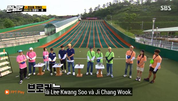 Trở lại Running Man, Ji Chang Wook khiến cả Lee Kwang Soo & Song Ji Hyo phải dùng... bạo lực - Ảnh 3.