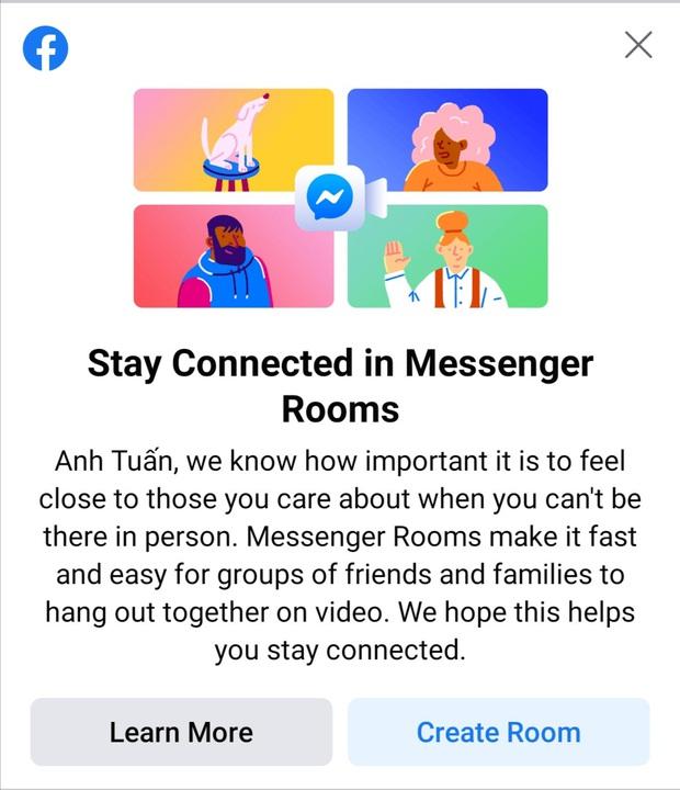 Người dùng Việt Nam đã có thể họp Zoom trên Facebook rồi, hơi muộn một chút thôi - Ảnh 1.