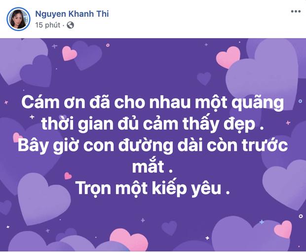 Giữa đêm Khánh Thi gây hoang mang khi đăng status tâm trạng về tình yêu, kéo xuống đọc bình luận mới vỡ lẽ ngọn nguồn - Ảnh 2.