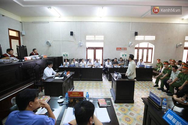 Xử phúc thẩm vụ nữ sinh giao gà, Bùi Văn Công nói to Không phải kháng cáo gì hết, đứa nào có tội thì tử hình luôn - Ảnh 1.