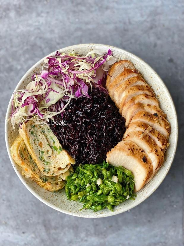 Chàng trai Hà Thành chia sẻ thực đơn Eat Clean buổi trưa trong 7 ngày theo style Nhật Bản: ngon - giảm cân - khỏe mạnh - Ảnh 3.