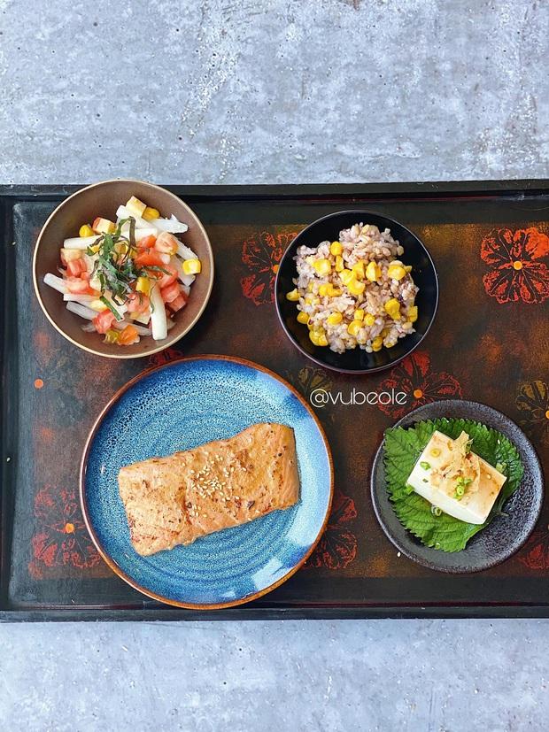 Chàng trai Hà Thành chia sẻ thực đơn Eat Clean buổi trưa trong 7 ngày theo style Nhật Bản: ngon - giảm cân - khỏe mạnh - Ảnh 6.