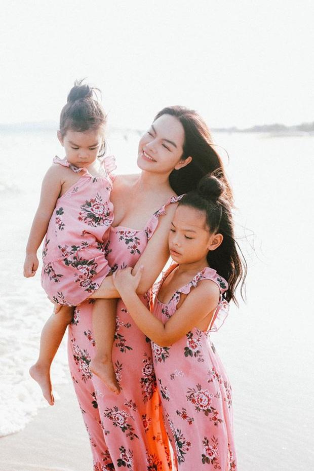 Hé lộ câu chuyện sau 1 ngày đi diễn của Phạm Quỳnh Anh: Nghe lời của 2 cô con gái nói với mẹ, tưởng đâu cảnh phim! - Ảnh 3.