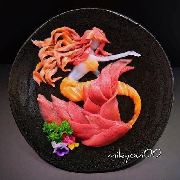 """Chỉ là """"tay ngang"""" nhưng cách thể hiện món ăn lại vô cùng xuất sắc bảo sao hàng chục ngàn người bấn loạn trước tài bếp núc của ông bố Nhật Bản này! - Ảnh 10."""