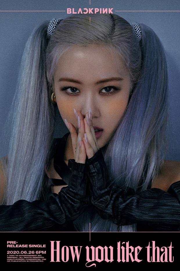 Màu tóc xanh của Rosé quá xịn, dự sẽ thành hot trend chị em nào cũng muốn đu theo hè này  - Ảnh 2.