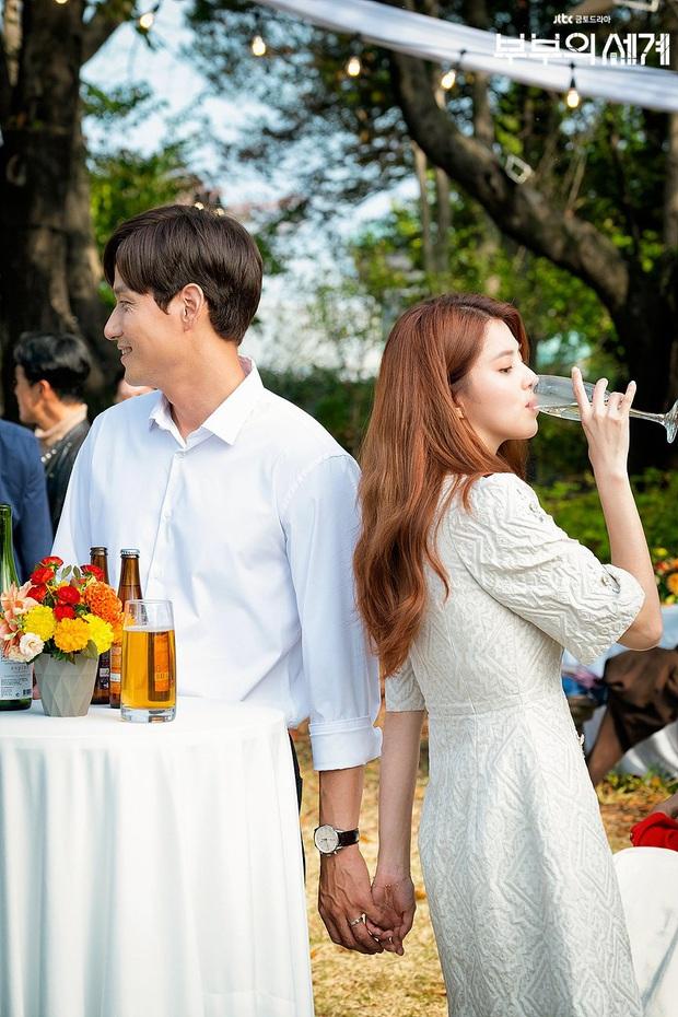 4 mẫu váy liền hot bền bỉ trong các drama Hàn, chị em sắm đủ thì muốn mặc xấu cũng khó - Ảnh 11.