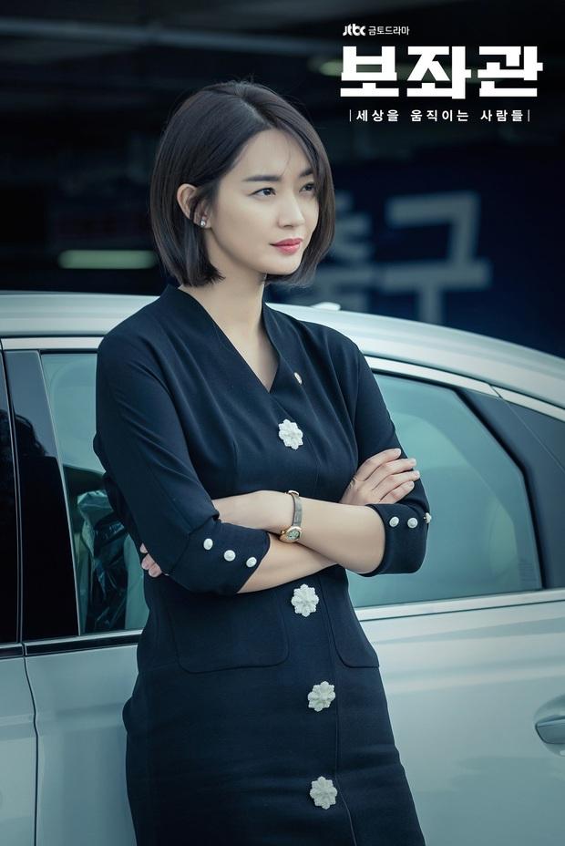 4 mẫu váy liền hot bền bỉ trong các drama Hàn, chị em sắm đủ thì muốn mặc xấu cũng khó - Ảnh 13.