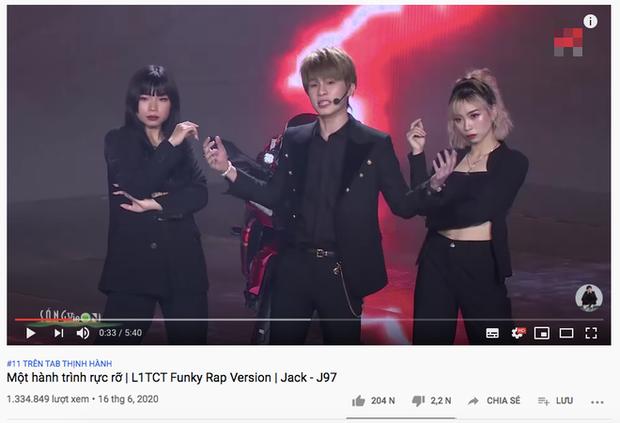 Chưa đầy 24 giờ, Jack đã xâm chiếm top trending Youtube với màn diễn live lần đầu tiên của Là Một Thằng Con Trai - Ảnh 3.