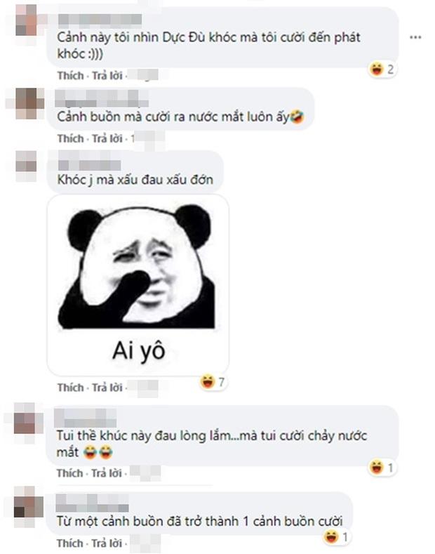 Cười nội thương với cảnh khóc đậm chất tấu hài của Hình Chiêu Lâm, netizen phát hờn: Tụt mood luôn đó anh gì ơi! - Ảnh 5.