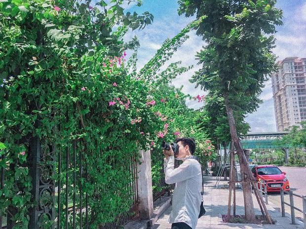 Những background check-in cùng hoa giấy thơ mộng nhất Hà Nội: Năm nào cũng thấy mà chưa bao giờ hết hot! - Ảnh 8.