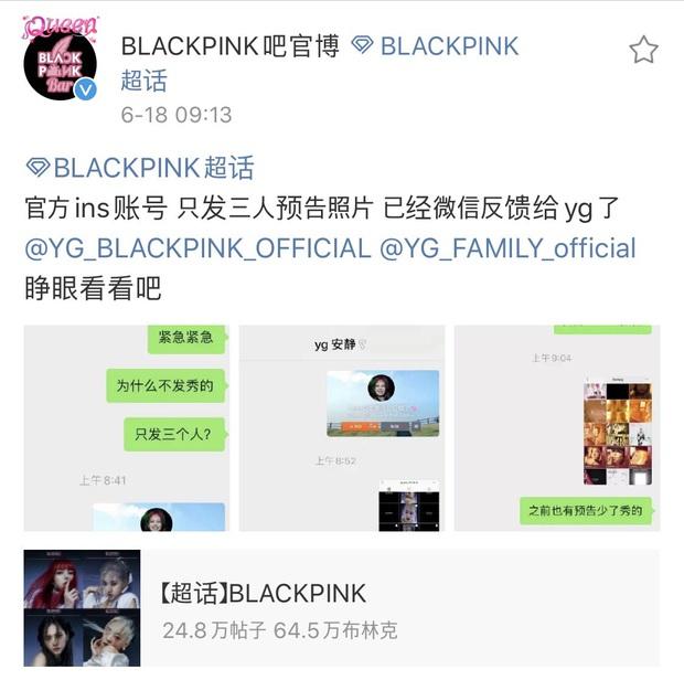 """Jisoo bị """"bỏ quên"""" khiến fan BLACKPINK nổi trận lôi đình, YG vội vàng lén lút sửa sai: Nước này đi nhầm, cho mình đi lại! - Ảnh 5."""