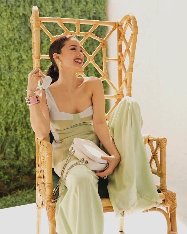 Không chỉ sưu tập túi hiệu, bạn thân Hà Tăng Heart Evangelista còn cho ra lò túi Hèrmes độc lạ do chính cô vẽ, tiền công hơn 40 triệu VNĐ  - Ảnh 1.