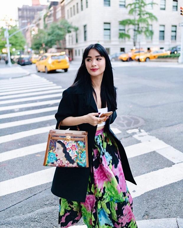 Không chỉ sưu tập túi hiệu, bạn thân Hà Tăng Heart Evangelista còn cho ra lò túi Hèrmes độc lạ do chính cô vẽ, tiền công hơn 40 triệu VNĐ  - Ảnh 3.