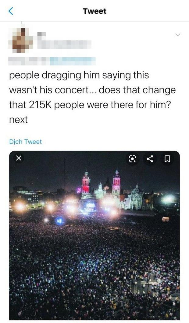 Justin Bieber nhận vơ ảnh đám đông khổng lồ trong concert huyền thoại Paul McCartney là của mình, bị bóc phốt nhưng vẫn không chịu xóa hình? - Ảnh 6.