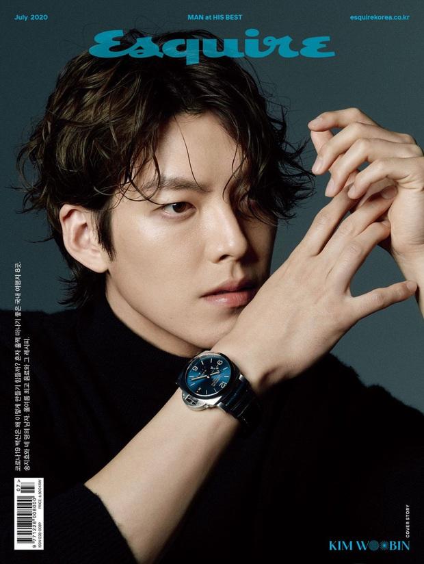 Kim Woo Bin lần đầu lên bìa tạp chí sau 3 năm điều trị ung thư: Visual trứ danh, bắp tay cuồn cuộn gây ngỡ ngàng