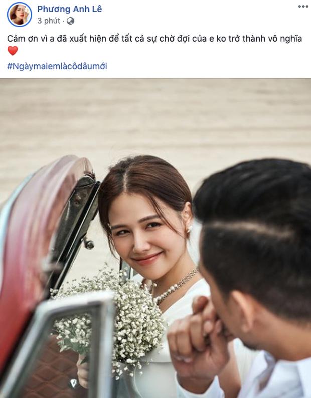Phanh Lee chính thức hé lộ ảnh cưới cận ngày lên xe hoa: Ánh mắt ngập tràn hạnh phúc, visual cô dâu giản dị vẫn đẹp đến nao lòng! - Ảnh 2.