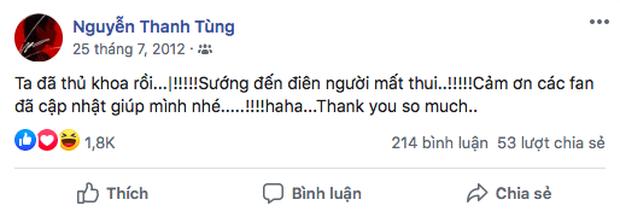 Dân mạng bất ngờ share rần rần 2 status của Sơn Tùng M-TP cách đây 8 năm! - Ảnh 2.