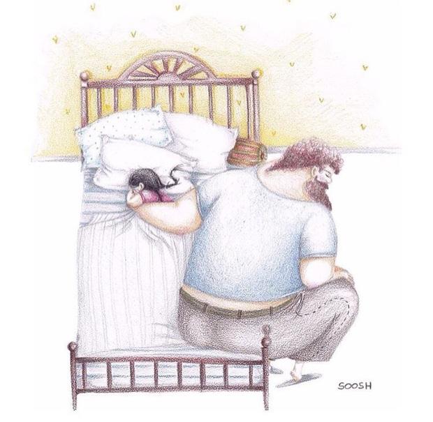 Đi khắp chốn không nơi nào bình yên như ở nhà, cũng chẳng ai đối xử với con tốt như bố  - Ảnh 1.