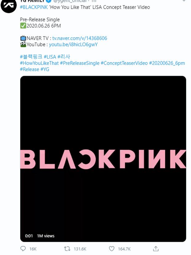 """YG lại """"sống lỗi"""" với Jisoo: Đăng video teaser cả tiếng nhưng bất ngờ xóa đi rồi âm thầm… đăng lại, fan 1 lần nữa """"la ó"""" vì thiếu chuyên nghiệp - Ảnh 6."""