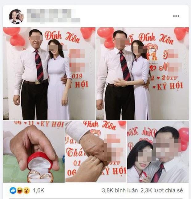 Vụ thầy giáo 53 tuổi đính hôn với học trò cũ 21 tuổi: Từng nhận nữ sinh làm con nuôi và có biểu hiện thân thiết từ khi còn ngồi trên ghế nhà trường - Ảnh 1.