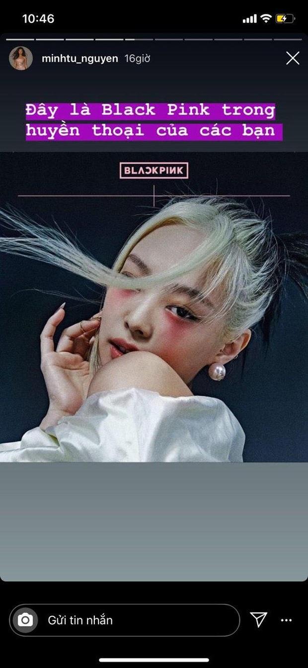 Siêu mẫu người Indo gốc Việt Minh Tú xác nhận mình là thành viên thứ 5 của BLACKPINK, khoe vũ đạo đu cây làm teaser và makeup giống hệt? - Ảnh 3.