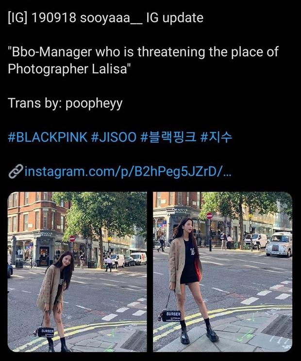 Netizen soi chi tiết Jisoo (BLACKPINK) ẩn ý về vụ quản lý lừa đảo Lisa 19 tỷ, qua đó hé lộ luôn thời điểm diễn ra vụ án? - Ảnh 6.