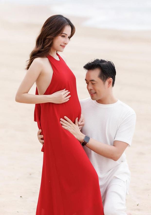 Sao Vbiz đồng loạt chúc mừng tin vui vợ chồng Dương Khắc Linh: Động thái của hội mẹ bầu Hà Hồ, Thu Thuỷ gây chú ý! - Ảnh 2.