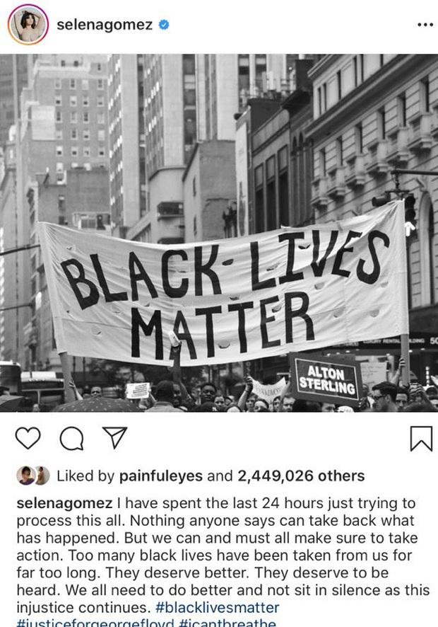 David Beckham, Justin Bieber, Selena Gomez cùng loạt sao thế giới đồng loạt kêu gọi đấu tranh giành quyền bình đẳng cho người da màu - Ảnh 4.