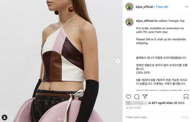 2 chiếc áo Jennie mới diện được chị em tranh nhau tìm mua, hot hit đến độ brand Hàn phải mở pre-order để đáp ứng - Ảnh 4.