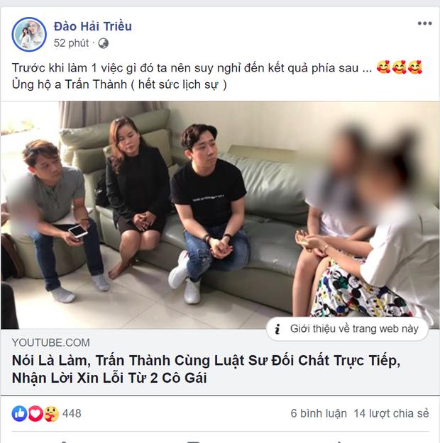 Sao Việt đồng lòng lên tiếng ủng hộ hành động quyết liệt của Trấn Thành khi bị loan tin dùng chất kích thích - Ảnh 3.