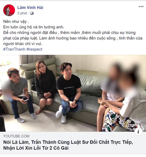Sao Việt đồng lòng lên tiếng ủng hộ hành động quyết liệt của Trấn Thành khi bị loan tin dùng chất kích thích - Ảnh 6.