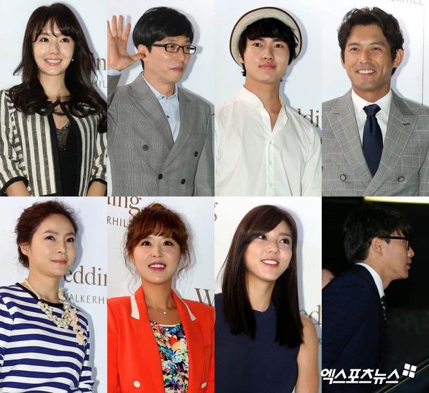 """Đám cưới ca sĩ """"Secret Garden"""" lên top Naver vì như """"bê"""" nửa Kbiz đến chung vui: Yoo Jae Suk, Park Bo Young, Sistar, cả chủ tịch JYP tụ họp đủ - Ảnh 4."""