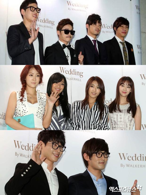 """Đám cưới ca sĩ """"Secret Garden"""" lên top Naver vì như """"bê"""" nửa Kbiz đến chung vui: Yoo Jae Suk, Park Bo Young, Sistar, cả chủ tịch JYP tụ họp đủ - Ảnh 7."""
