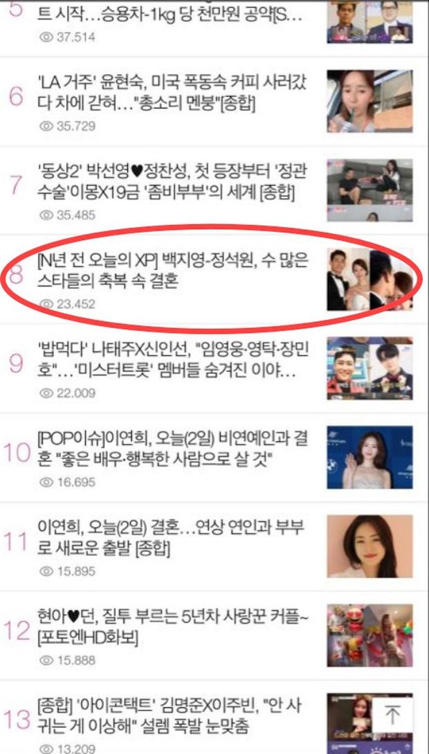 """Đám cưới của ca sĩ """"Secret garden"""" lên top Naver vì độ khủng của dàn khách mời - Ảnh 2."""