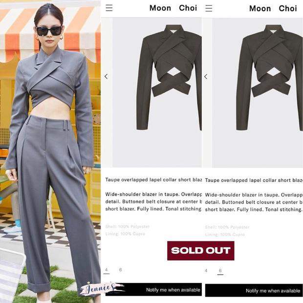2 chiếc áo Jennie mới diện được chị em tranh nhau tìm mua, hot hit đến độ brand Hàn phải mở pre-order để đáp ứng - Ảnh 7.