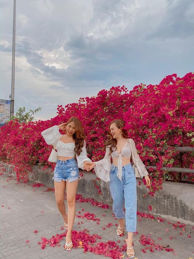 Xuất hiện cây cầu hoa giấy bạt ngàn, team Hà Nội lại có thêm một khu xinh xắn để tha hồ check-in - Ảnh 3.