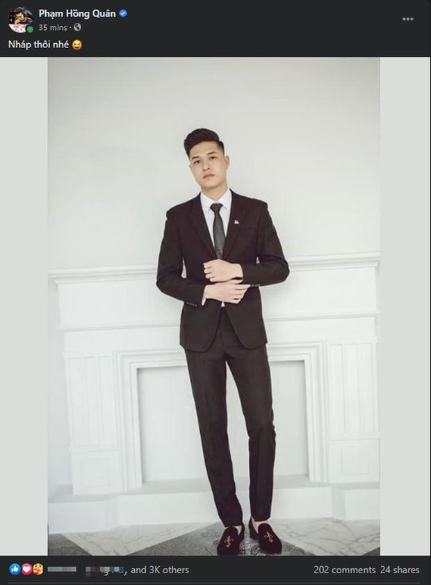 Gấu chính thức nhá hàng ảnh cưới đẹp mê li, fan vào xuýt xoa: Đâu có thua kém gì diễn viên Hàn Quốc đâu? - Ảnh 1.