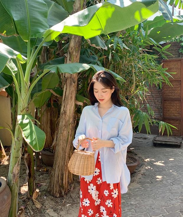 Đã bao mùa Hè trôi qua, sao Hàn vẫn chưa chán một kiểu áo sơ mi ai mặc cũng đẹp và sành điệu hơn gấp bội - Ảnh 12.