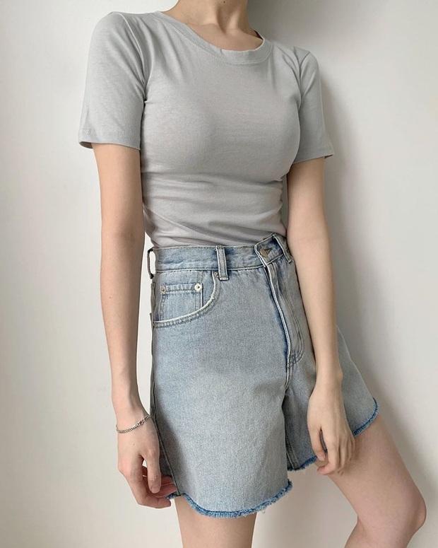 Nhắn nhủ chị em kiểu jean short chuẩn từng vóc dáng: Đùi to đến mấy cũng có dáng quần dành riêng cho mình - Ảnh 17.