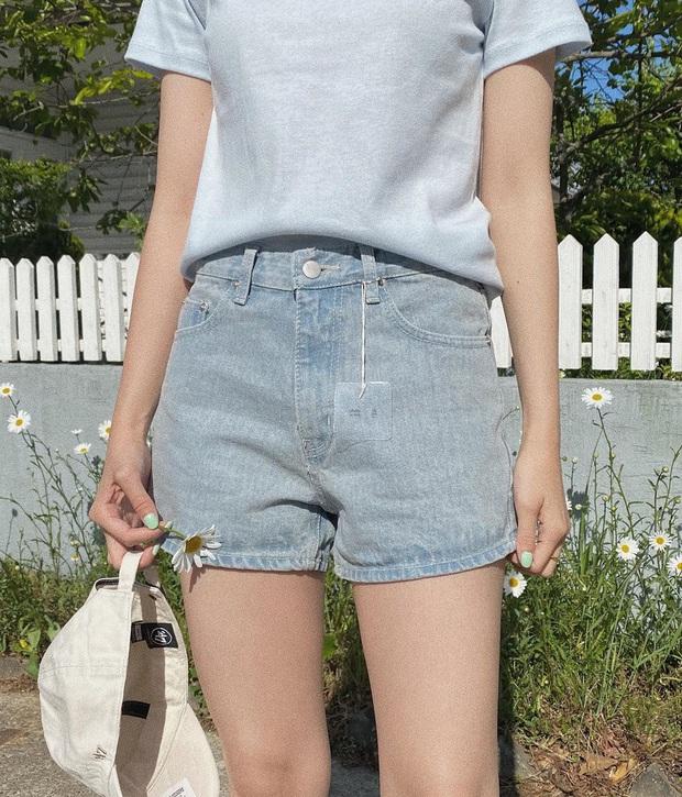 Nhắn nhủ chị em kiểu jean short chuẩn từng vóc dáng: Đùi to đến mấy cũng có dáng quần dành riêng cho mình - Ảnh 18.