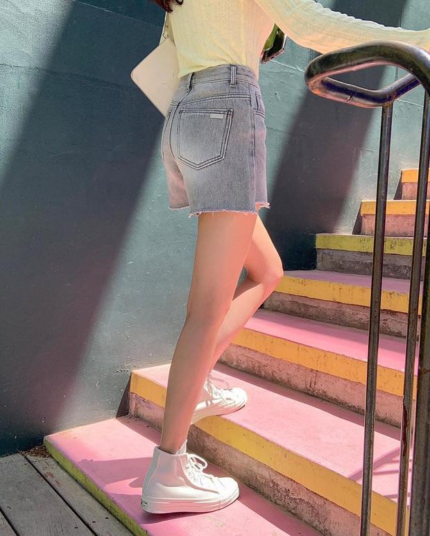 Nhắn nhủ chị em kiểu jean short chuẩn từng vóc dáng: Đùi to đến mấy cũng có dáng quần dành riêng cho mình - Ảnh 2.