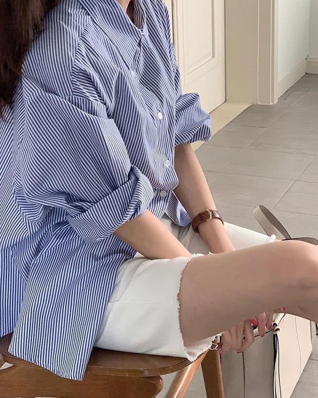 Nhắn nhủ chị em kiểu jean short chuẩn từng vóc dáng: Đùi to đến mấy cũng có dáng quần dành riêng cho mình - Ảnh 5.