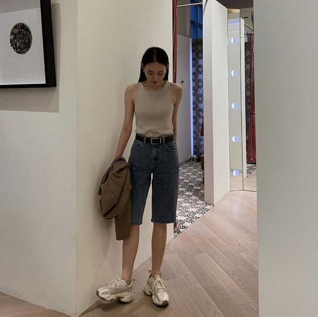 Nhắn nhủ chị em kiểu jean short chuẩn từng vóc dáng: Đùi to đến mấy cũng có dáng quần dành riêng cho mình - Ảnh 6.