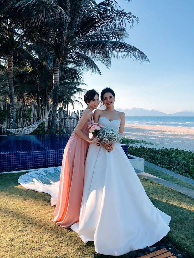 Đám cưới Phanh Lee và tổng giám đốc tập đoàn nghìn tỷ: Cô dâu xinh đẹp rạng rỡ, MC Thu Hoài - Huyền Lizzie làm phù dâu - Ảnh 14.