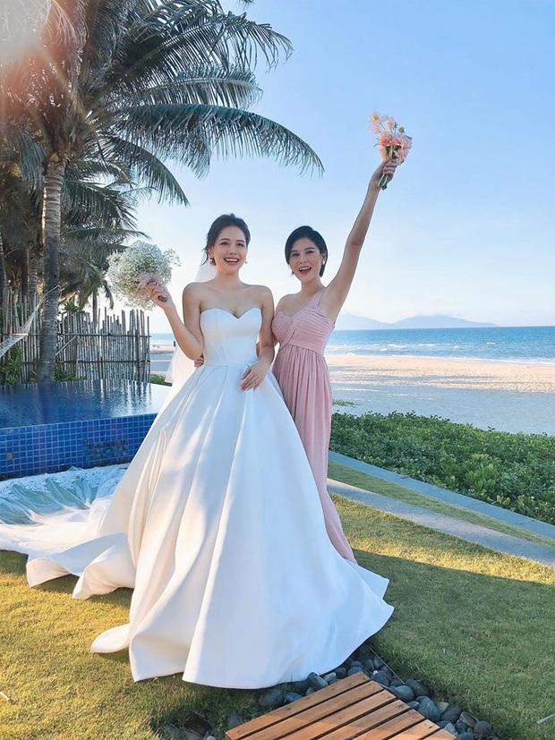 Đám cưới Phanh Lee và tổng giám đốc tập đoàn nghìn tỷ: Cô dâu xinh đẹp rạng rỡ, MC Thu Hoài - Huyền Lizzie làm phù dâu - Ảnh 13.