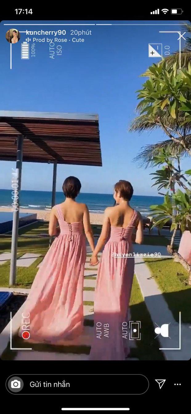 Đám cưới Phanh Lee và tổng giám đốc tập đoàn nghìn tỷ: Cô dâu xinh đẹp rạng rỡ, MC Thu Hoài - Huyền Lizzie làm phù dâu - Ảnh 4.