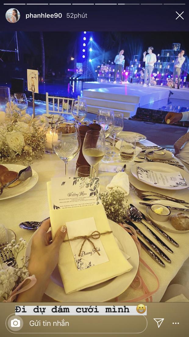 Đám cưới Phanh Lee và tổng giám đốc tập đoàn nghìn tỷ: Cô dâu xinh đẹp rạng rỡ, MC Thu Hoài - Huyền Lizzie làm phù dâu - Ảnh 11.
