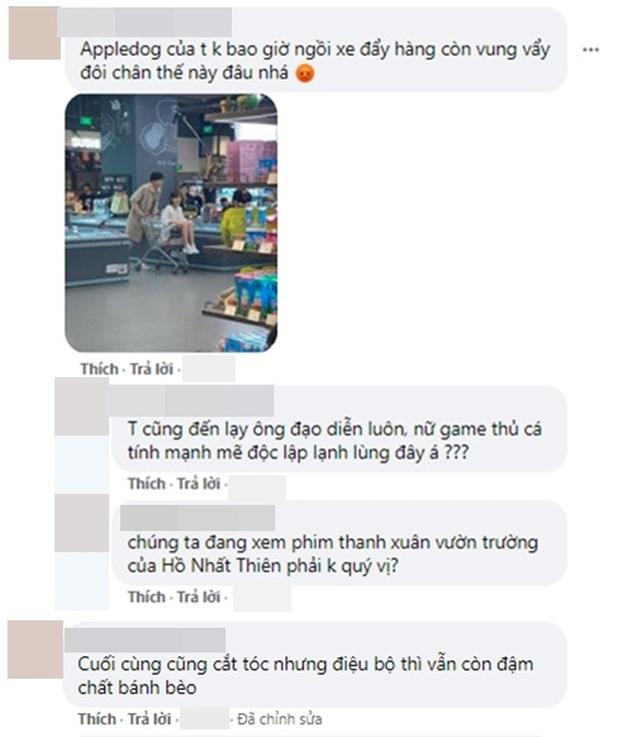 Netizen mừng hớn vì stylist Cá Mực Hầm Mật 2 cho nữ chính cắt tóc nhưng màn tình tứ trên xe đẩy hàng vẫn cứ sai sai? - Ảnh 8.
