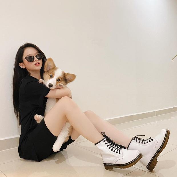 Nhìn Linh Ka nuôi cún cưng mà thấy xót tiền giùm, mài răng sương sương bằng chiếc ví hàng hiệu chứ nhiêu - Ảnh 3.